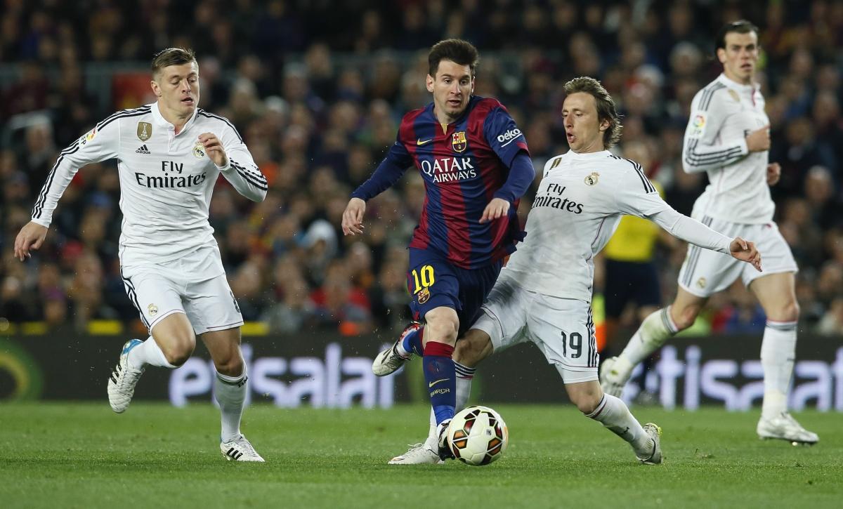 Toni Kroos, Lionel Messi & Luka Modric