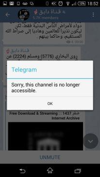 Telegram ISIS islamic state Paris