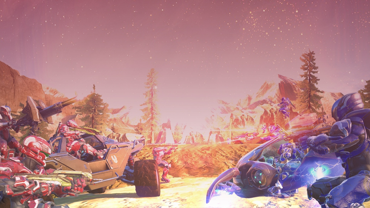 Halo 5 Guardians Big Team Battle