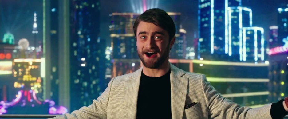 Daniel Radcliffe in Now You See Me2