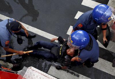 APEC protest