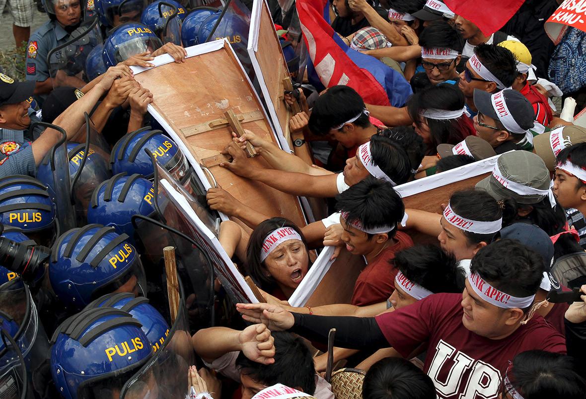 APEC protests