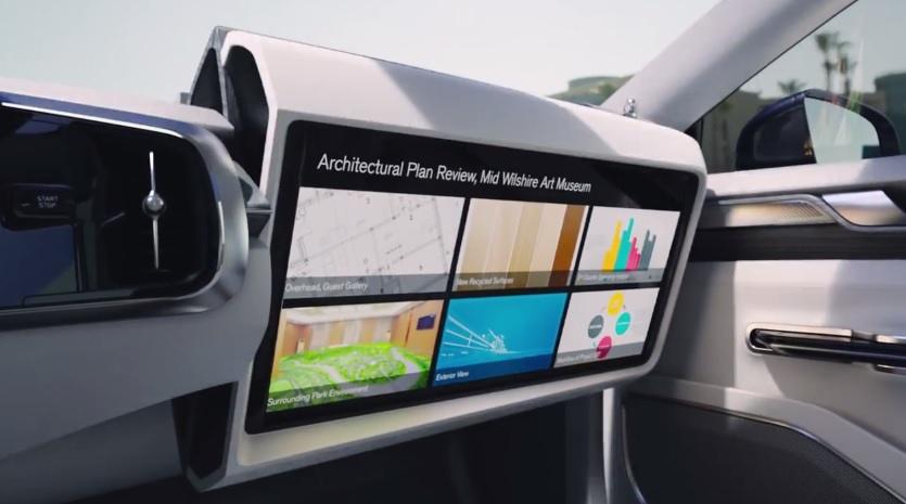 Volvo Concept 26 autonomous interior