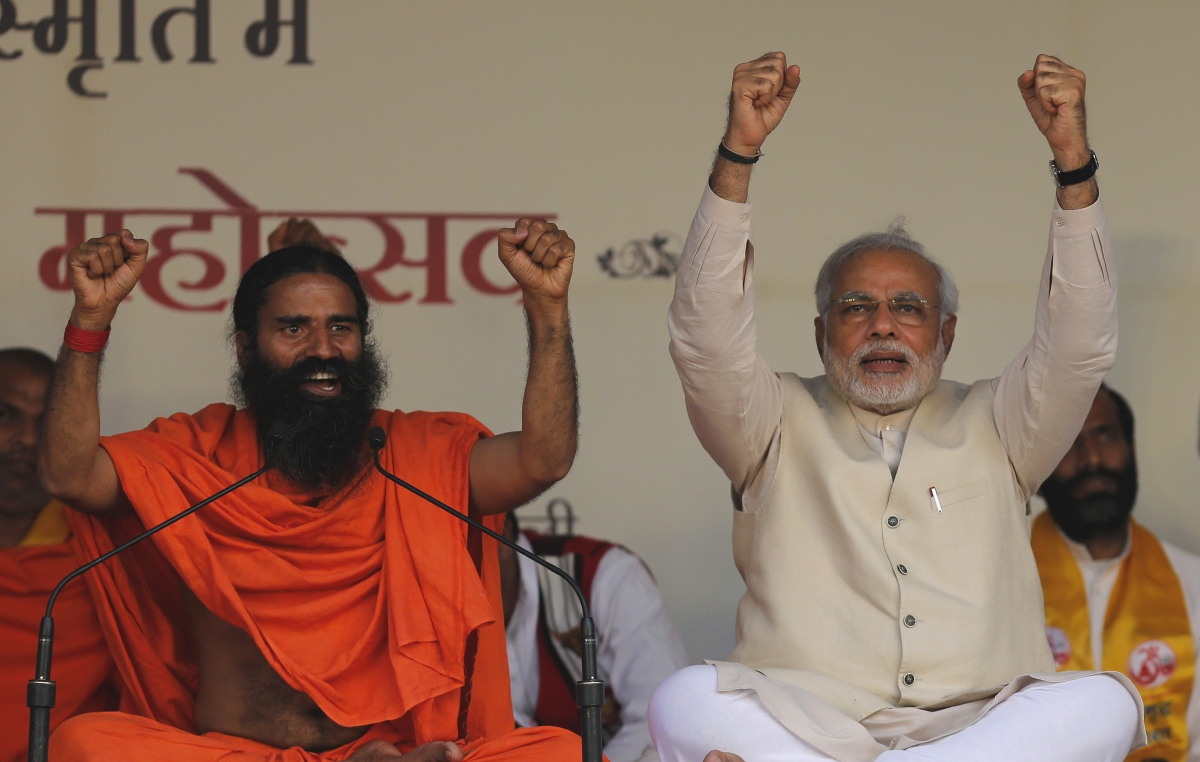 Indian Yoga guru Baba Ramdev's company set to compete with global MNC's such as Nestle and Nike