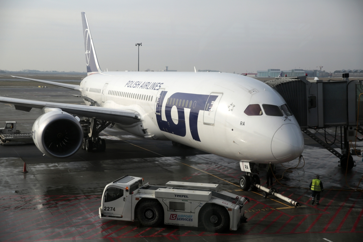 Polish airline LOT