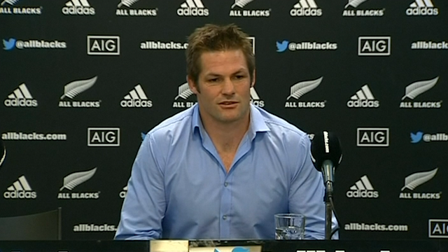 Richie McCaw's last press conference