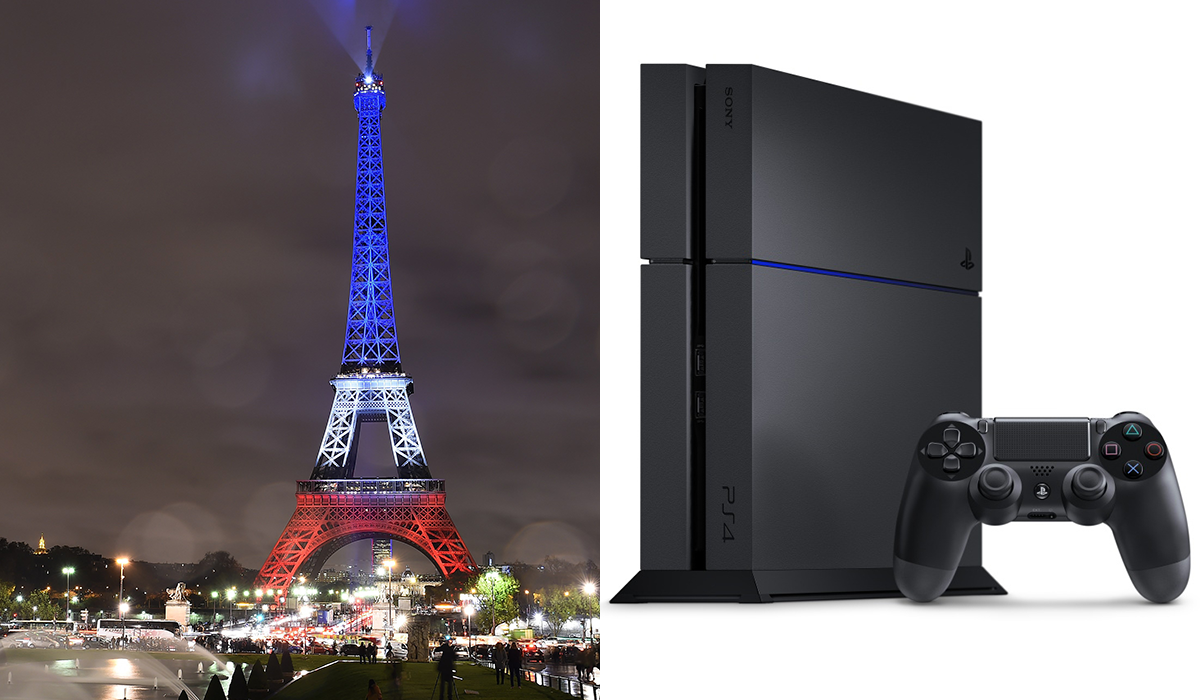 PS4 ISIS Attack Eifel Tower