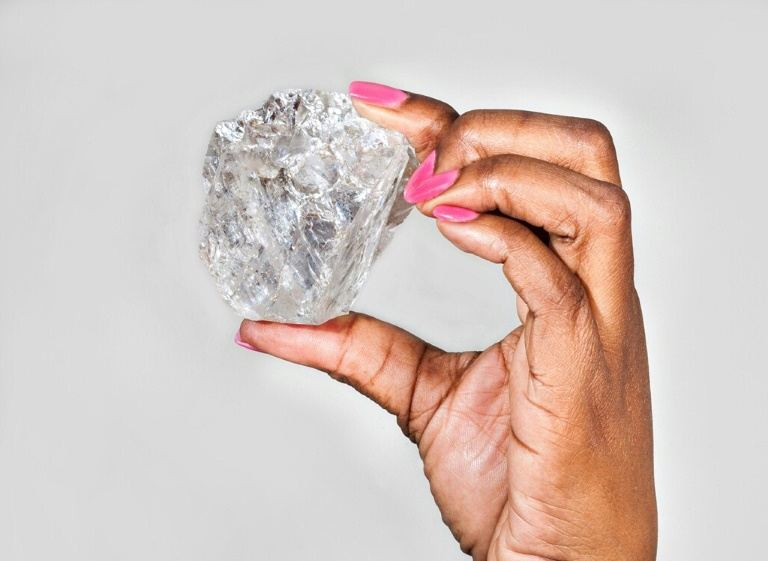 The largest diamond in a century unearthedinBotswana
