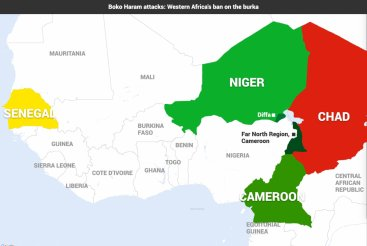 Boko Haram attacks:Western Africa's ban on burqa