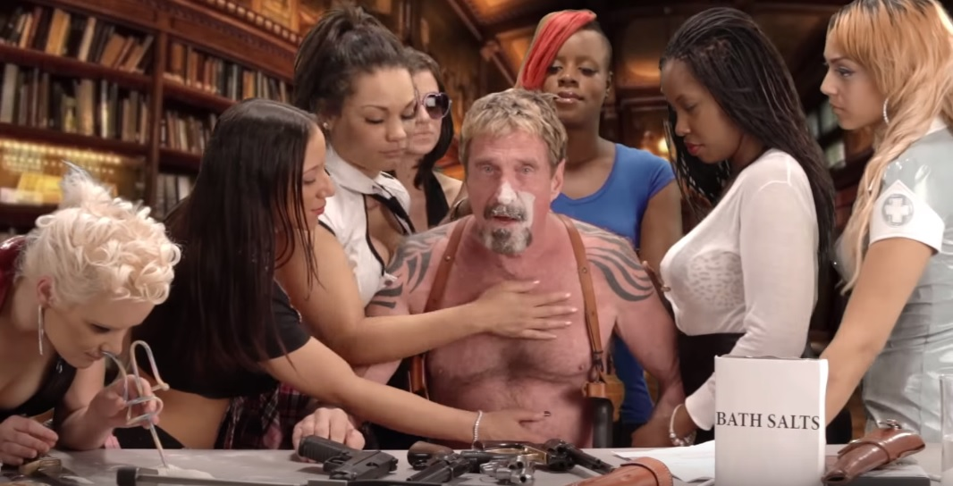 john mcafee documentary biography belize