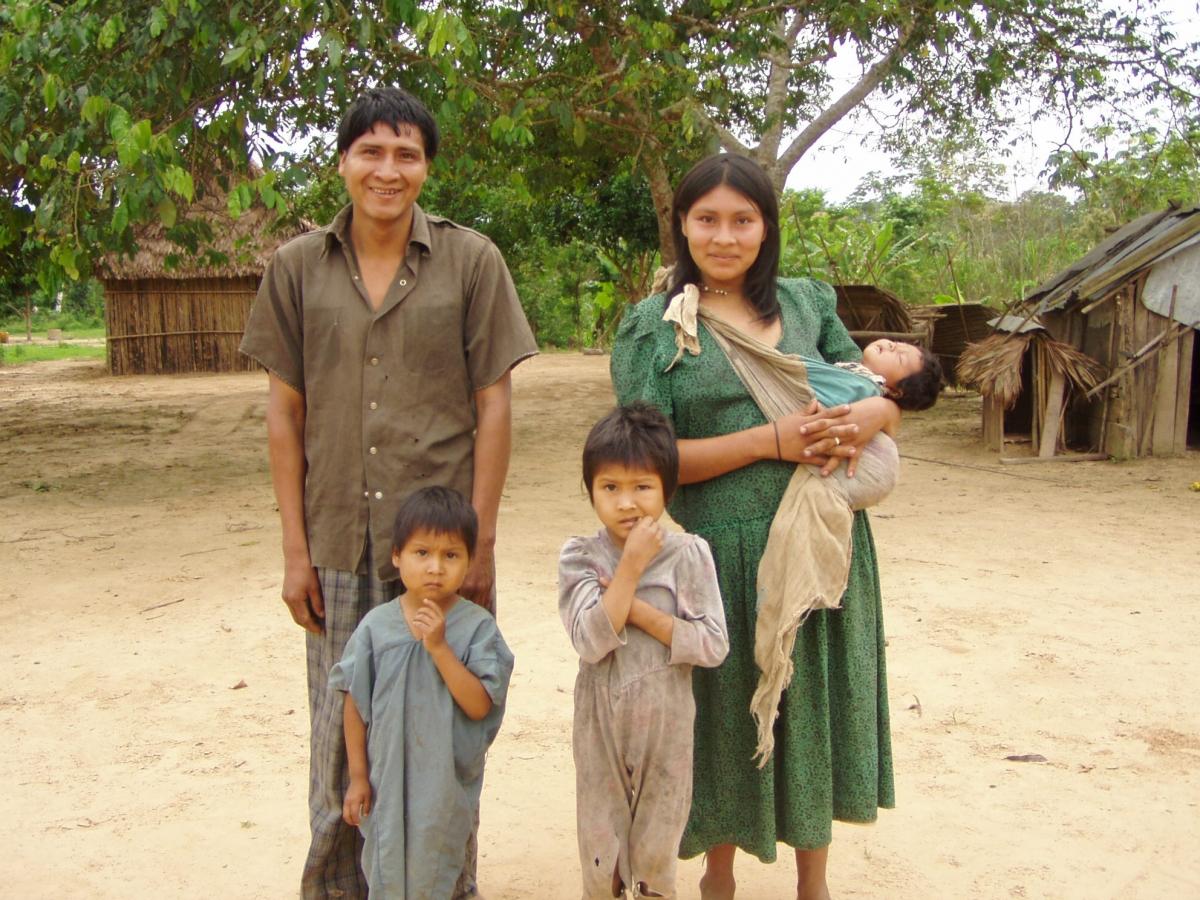 A Tsimane family