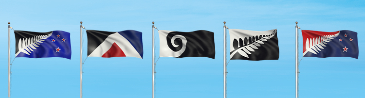 New Zealand flag designs