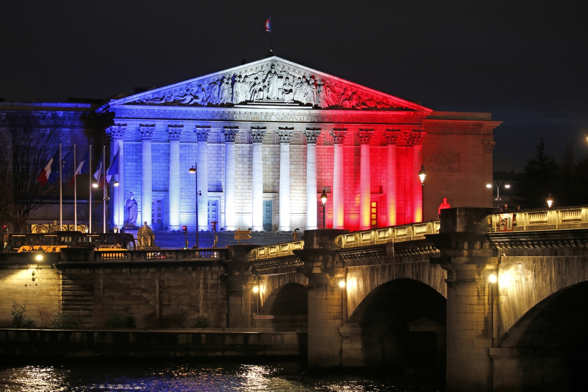 Paris attacks French Assembly