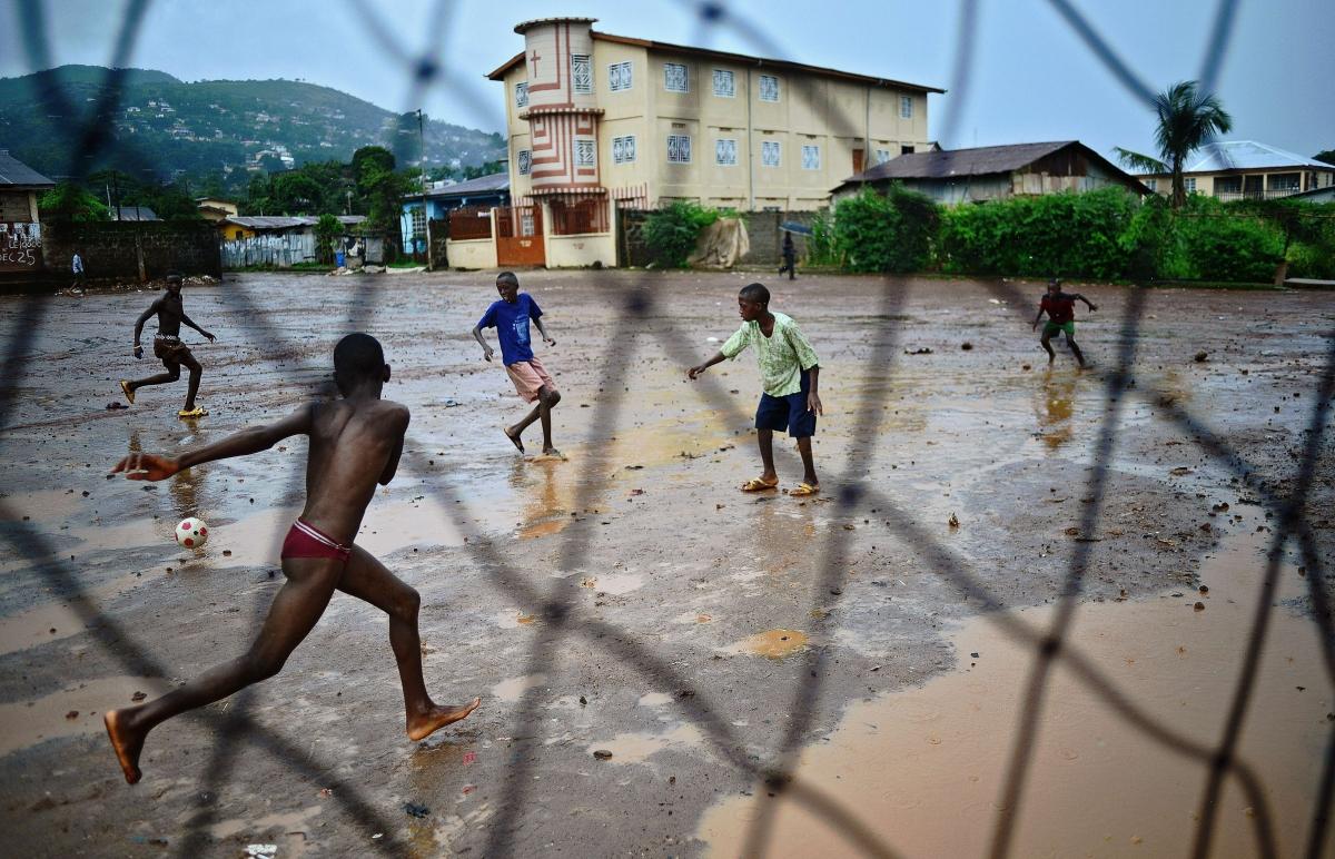 Sierra Leone boys football