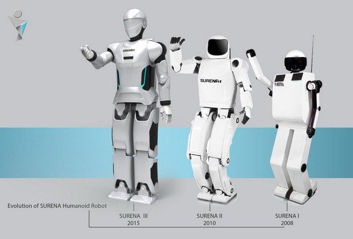Surena III humanoid robot