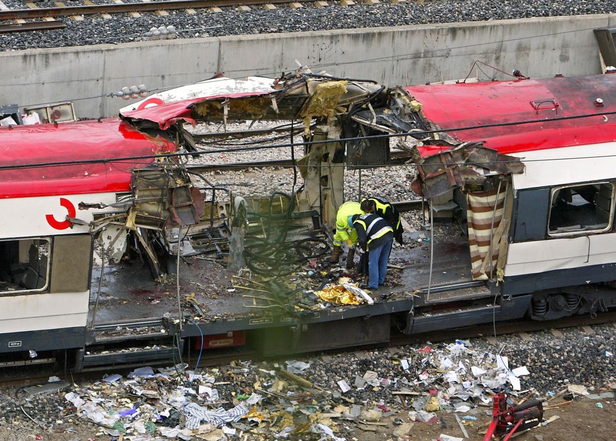 Madrid train bomb