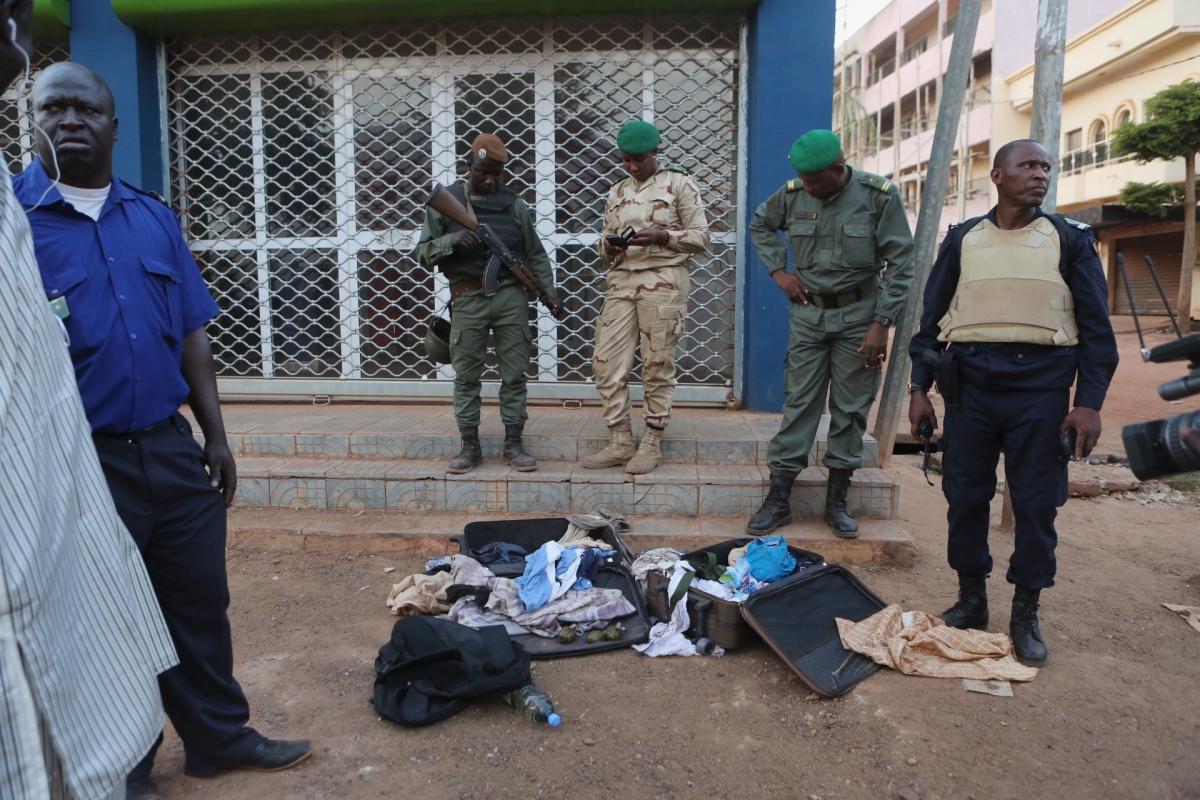 Mali hotel siege