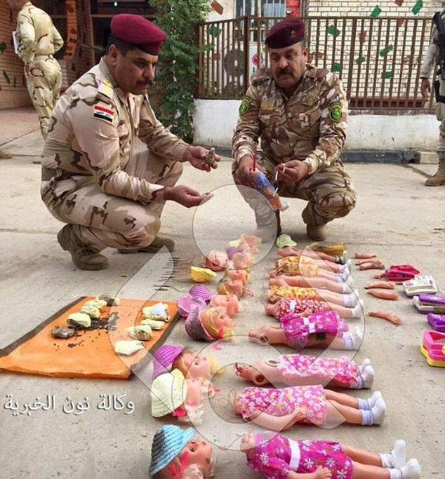 Isis doll bombs