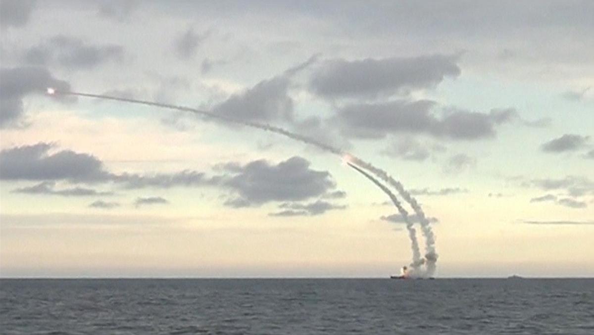Russian warship, Caspian Sea
