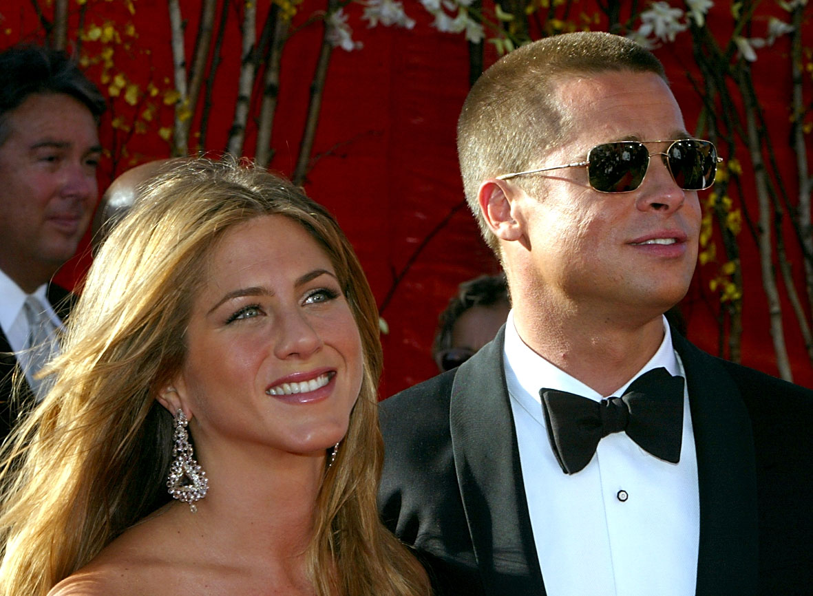 Jennifer Aniston upset with Brad Pitt and Angelina Jolie ...