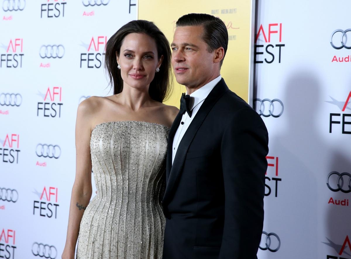 Brad Pitt and Angelina... Brad Pitt Divorcing
