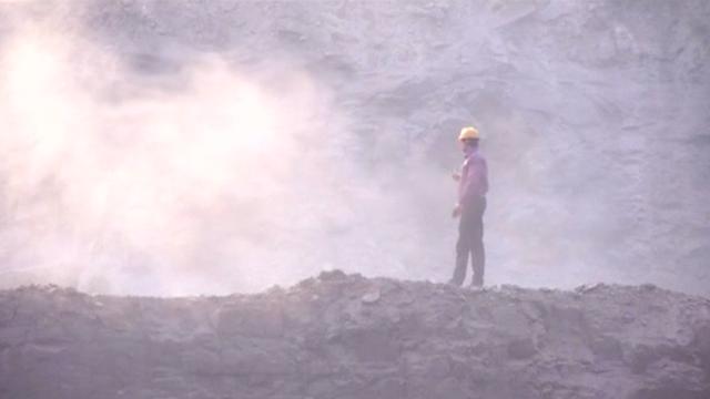 Coal mine in India