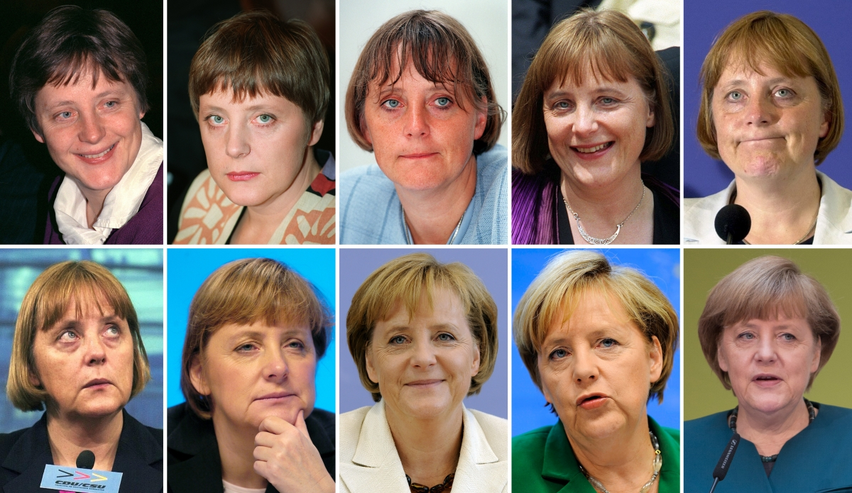 Merkel through the ages