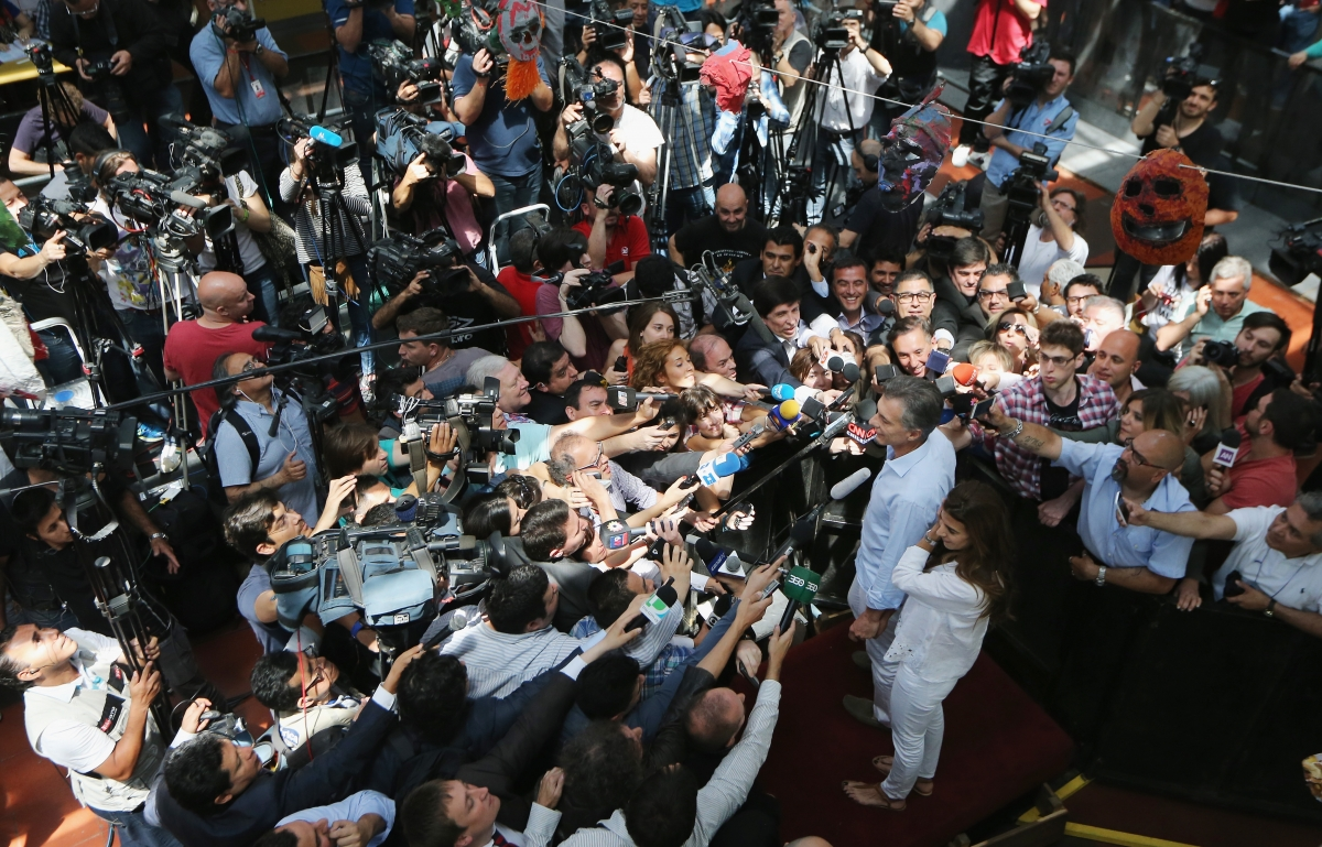 First Argentinian Presidential run-off