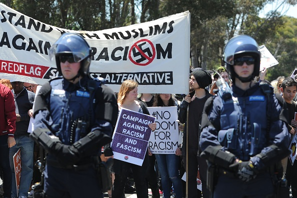 Anti-racism and anti-Islam rallies turn violent