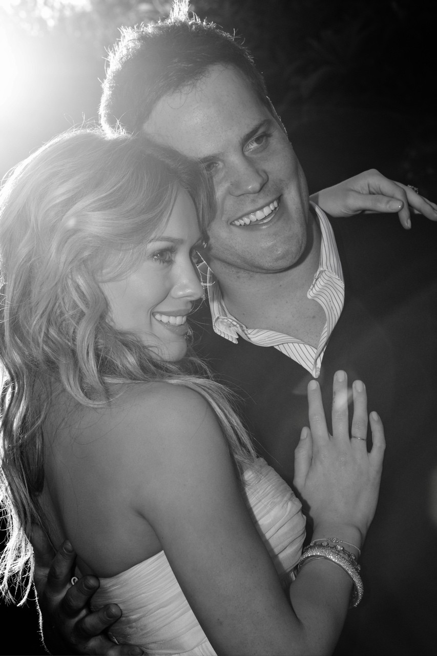 Hilary Duff and Mike Comrie Wedding