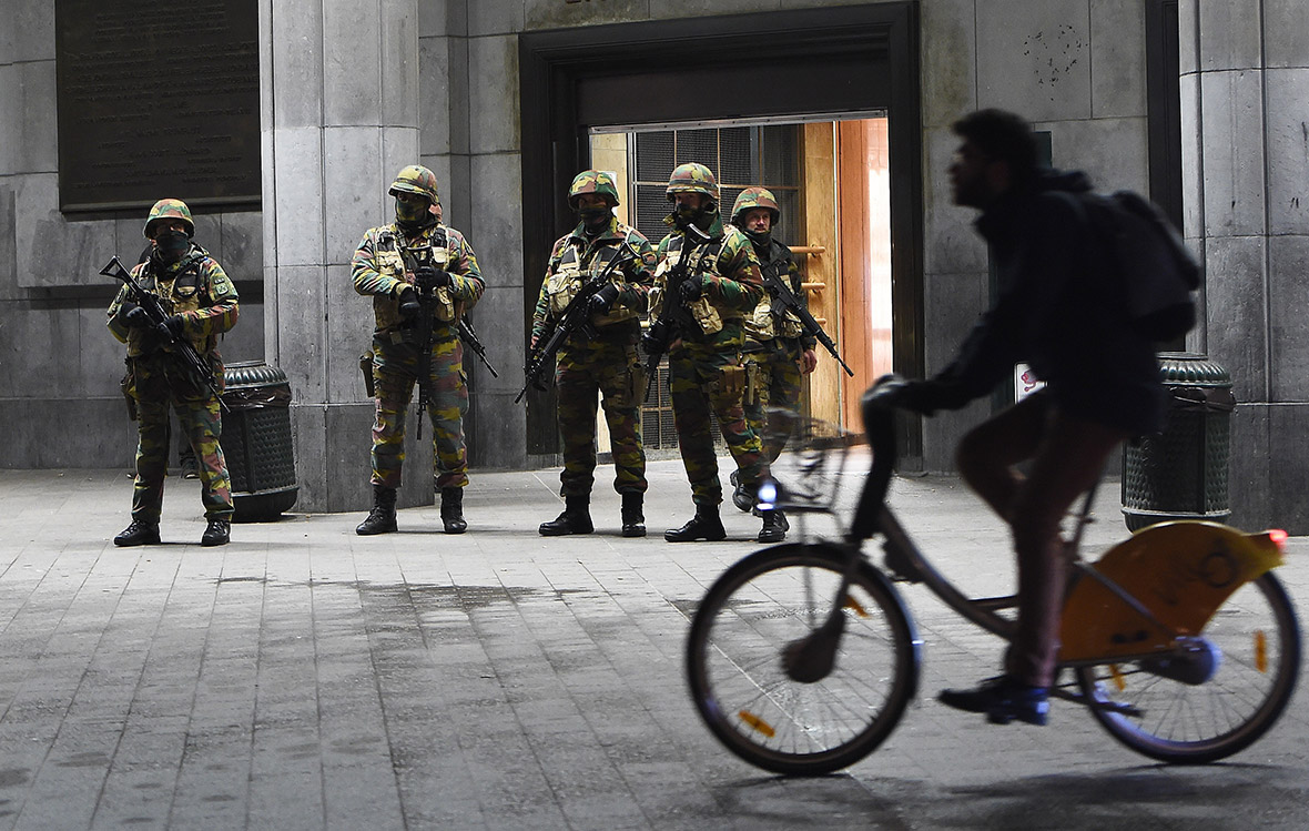 Brussels lockdown