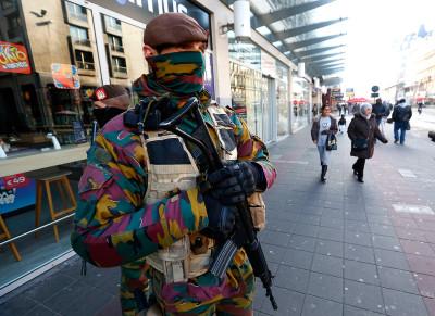 Brussels lockdown