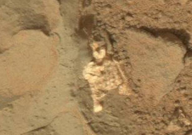 Alien skeleton