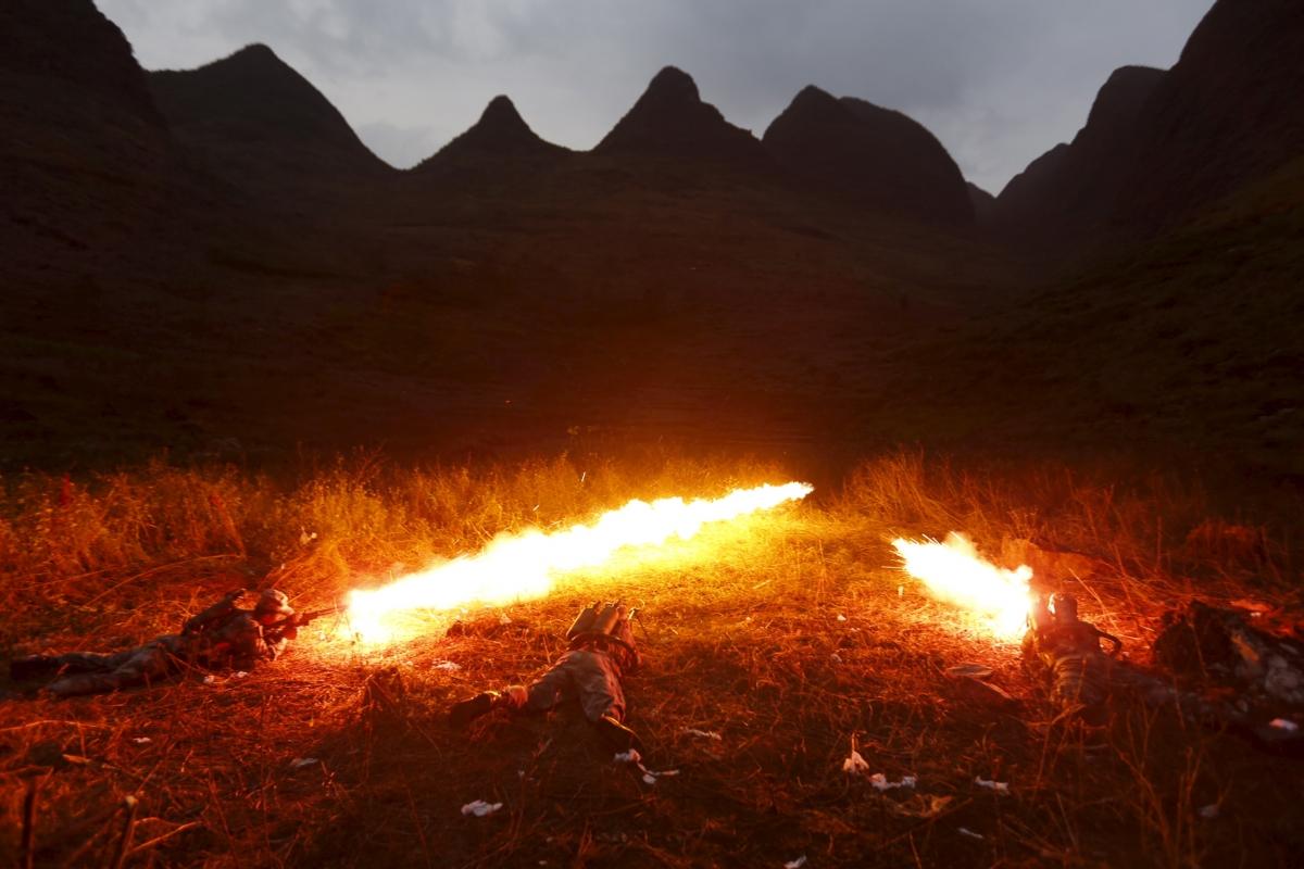 Flamethrower china