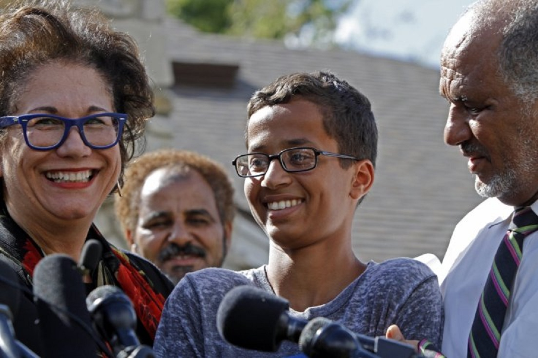 Ahmed Mohamed reperations