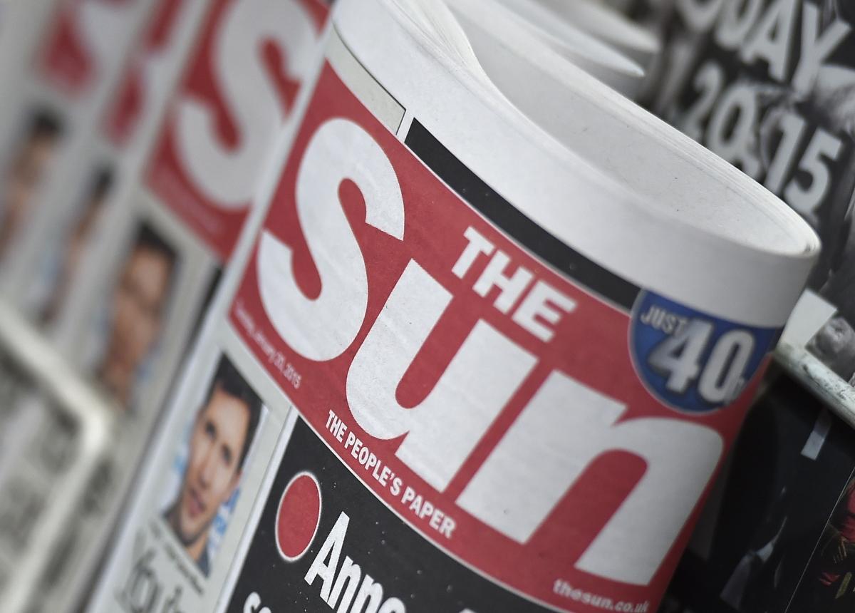 News stand, London