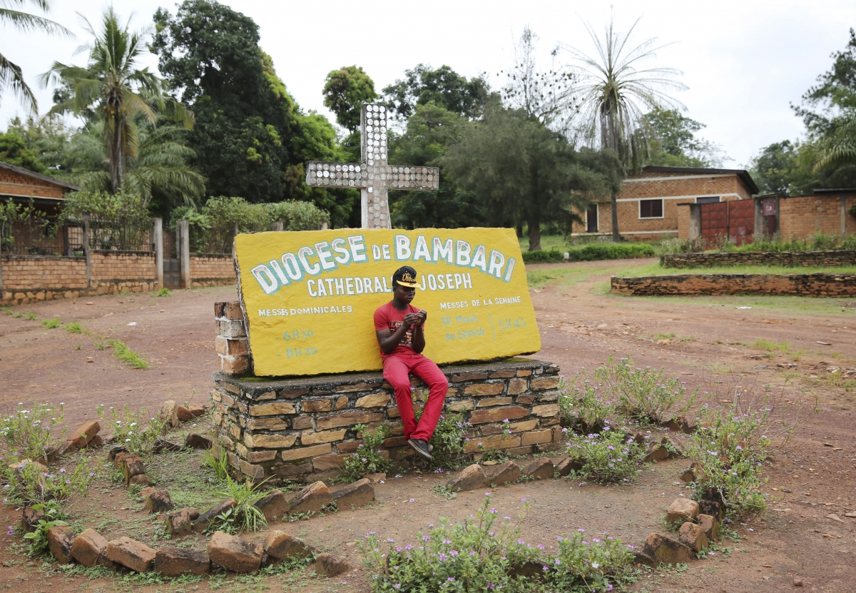 Pope visits Central African Republic