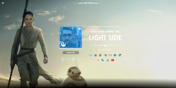 Google Star Wars