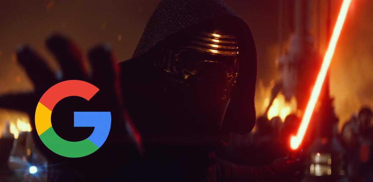 Google Star Wars Kylo Ren