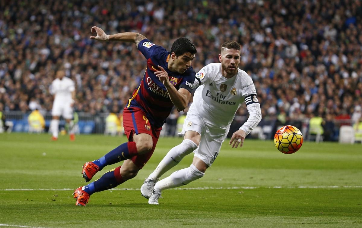Luis Suarez & Sergio Ramos