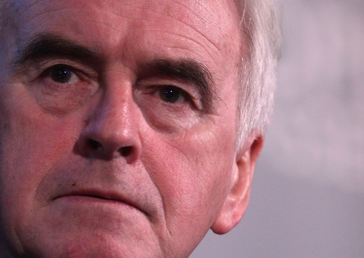 John McDonnell UK Labour