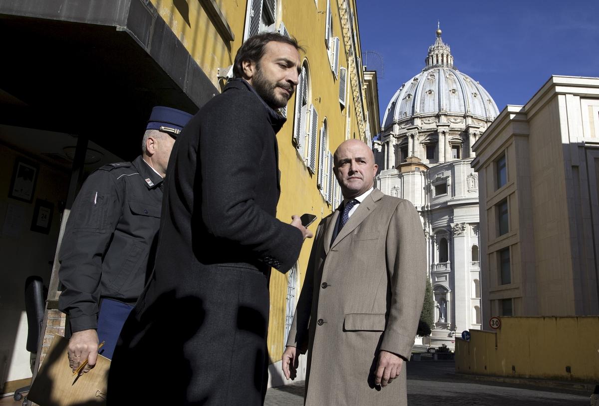 Vatileaks journalists Gianluigi Nuzzi and Emiliano Fittipaldi