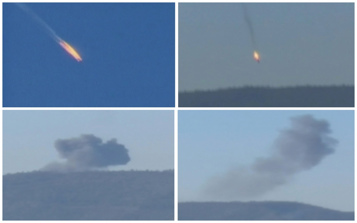 Syria border Turkey shoots down Russian plane