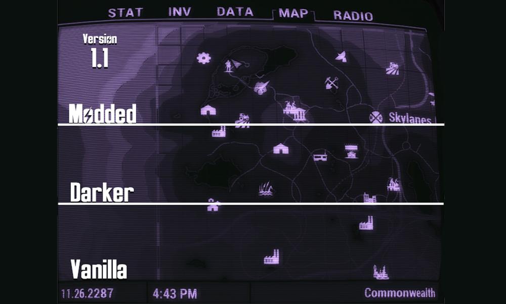 Fallout 4 map mod