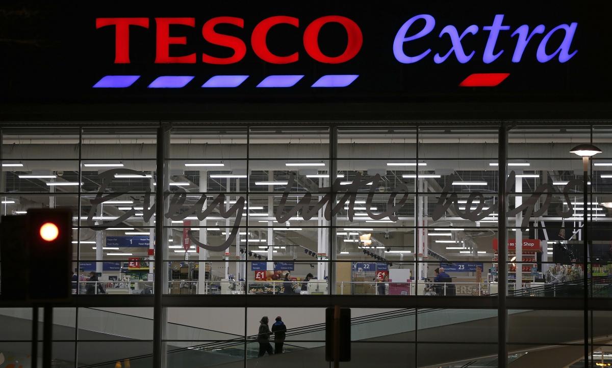 Tesco Christmas strike supermarket shopping retail