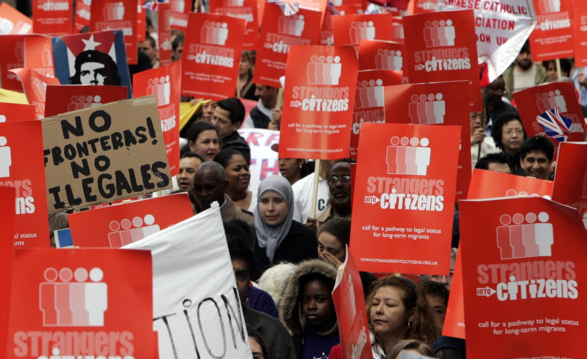 Anti-deportation protests