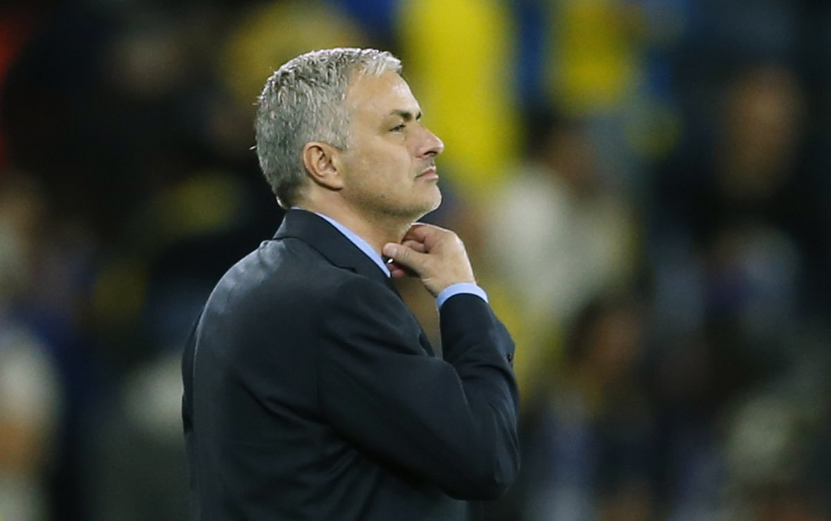 Jose Mourinho after Maccabi match