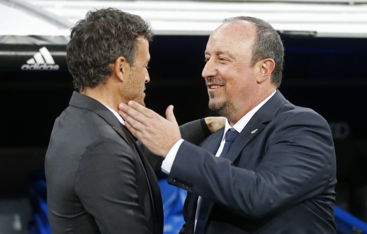Luis Enrique & Rafael Benitez