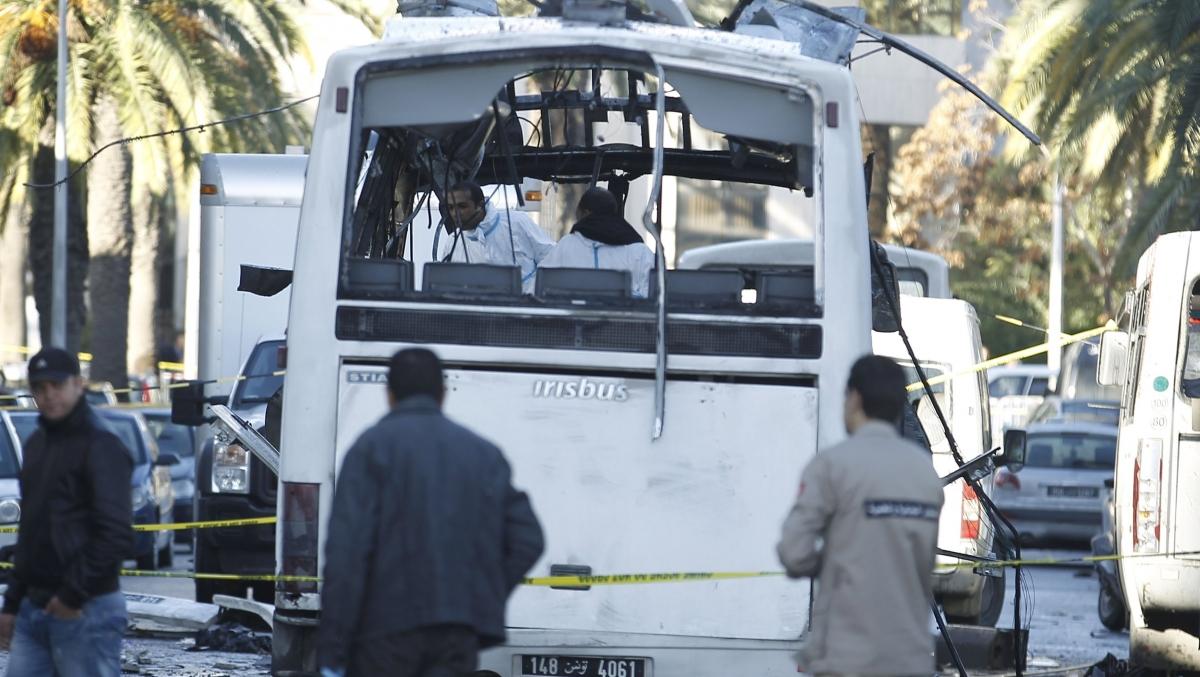 Tunisia suicide attack