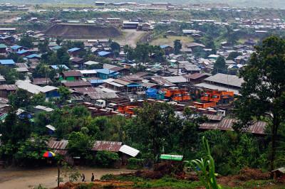 Myanmar jade mine